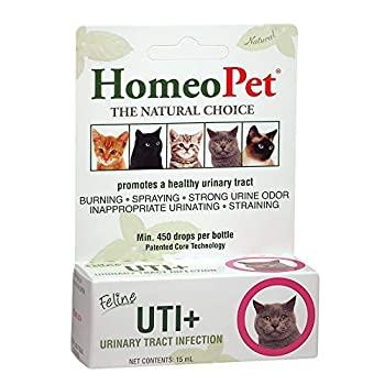 HomeoPet UTI Plus Urinary Tract Infection for Cats 15ml