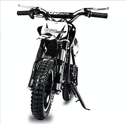 Fit Right 2020 DB001 49CC 2-Stroke Kids Dirt Off Road Mini Dirt Bike, Kid Gas Powered Dirt Bike Off Road Motorcycle (Black)