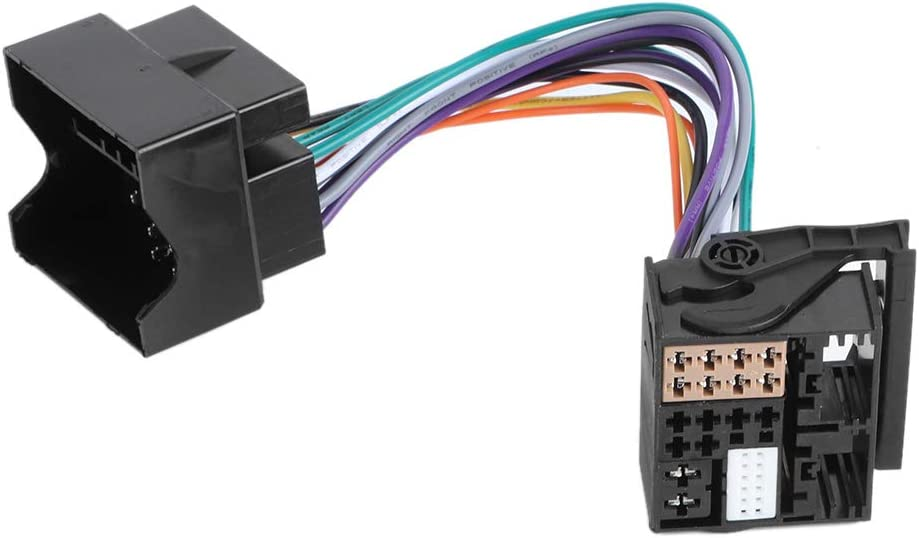 YUANJS PQ Over item handling ☆ to MQB Transfer Line Harness Wire Radio Adapter Sale price RCD330