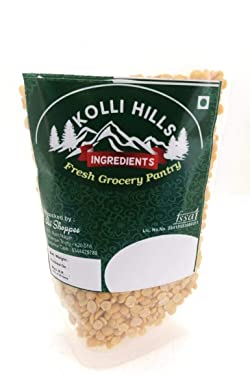 Kolli Hills Ingredients Toor Dal / Thuvaram Paruppu / Fresh Grocery Pantry 100% Natural Premium ( 1Kg )