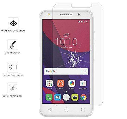 Tumundosmartphone Protector Pantalla Cristal Templado para Orange Rise 51/ALCATEL PIXI 4 (5) 4G/VODAFONE Smart Turbo 7 Vidrio