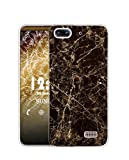 Sunrive Funda para Honor 4C/Huawei G Play Mini, Silicona Slim Fit Gel Transparente Carcasa Case Bumper de Impactos y Anti-Arañazos Espalda Cover(TPU Mármol Negro)