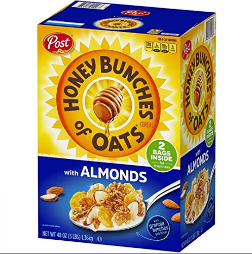 Post Honey Bunches of Oats with Almonds, 48 oz. AS