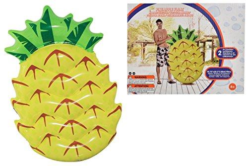 Toyland® gigantische opblaasbare strandvlotter met ananaszwembad - zomers buitenspeelgoed