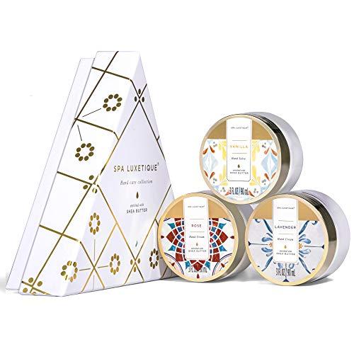 Crema de Manos Reparadora-Spa Luxetique Set de Cremas de Manos para Manos Secas y Grietas