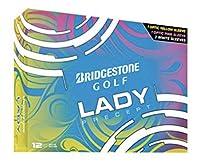 Bridgestone レディース ゴルフボール - 1ダース(イエロー3個、ピンク3個、ホワイト6個)