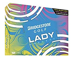 The Best Women's Golf Balls - Bridgestone Lady Precept Golf Balls