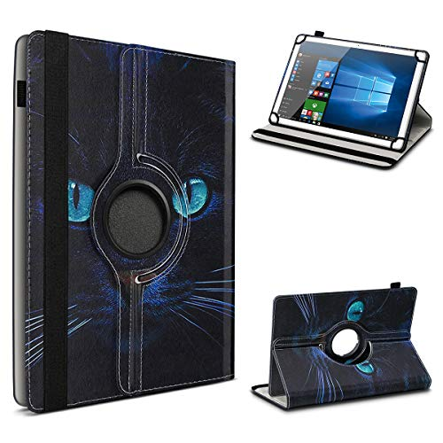 UC-Express Schutzhülle kompatibel für Archos 101 Platinum 3G Tablet Hülle Tasche Hülle Cover 360° Drehbar, Farbe:Motiv 10