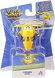 Super Wings EU740073 Bots - Figura transformadora de 2 Pulgadas, Color Amarillo