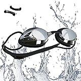 vetoky Occhialini da Nuoto, Anti-Appannamento Occhiali da Nuoto Agonistico Protezione UV...