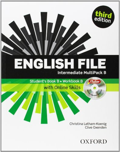 English File third edition: English File Intermediate: Multipack B with iTutor and Online Skills 3rd...