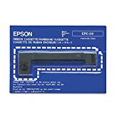 Epson ERC-09 Black Printer Ribbon cinta para impresora - Cinta de impresoras matriciales (Epson M-160/163/164/180/182/183/185/190/191/192/195)