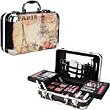 Ver Beauty 61pcs Makeup Gift Set With Extendable Trays and Mirror - Vmk1506, Paris Theme, 1 count