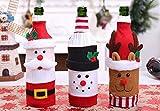 Octubre Elf Navidad Rojo Botella de Vino Bolsa de Vino Bolsa de Regalo Bolsa de...