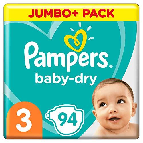Pampers Baby-Dry Gr. 3 94 Windeln bis 12 Stunden Schutz 6-10 kg
