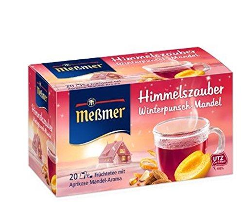 Meßmer Himmelszauber Winterpunsch/ Mandel 20 Teebeutel, 5er Pack (5 x 55 g)