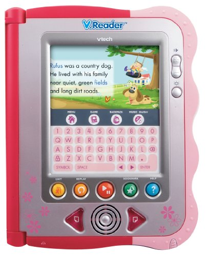 VTech - V.Reader Animated E-Book System - Pink Maine