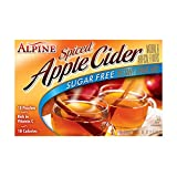 Alpine Spiced Apple Cider Sugar Free Instant Drink Mix, 1.68 Ounce Pouches (Pack of 12)