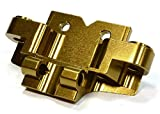 Integy RC Model Hop-ups C26034BRONZE Billet Machined Front Lower Suspension Arm Mount for Axial 1/10 Yeti Rock Racer