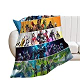 Fortnite Blanket Throw Blanket Ultra-Soft Micro Flannel Fleece Couch Quilted Blankets for Indoor and Outdoor (Style2 40'x50')