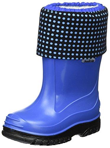 Romika Lucy, Stivali di Gomma Unisex – Bambini, Blau (Kobalt-Kombi (551), 31 EU