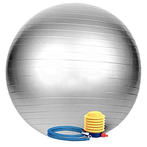 WINOMO Ejercicio Ball Anti Burst Tested 65cm Balance Stability Yoga Ball para...