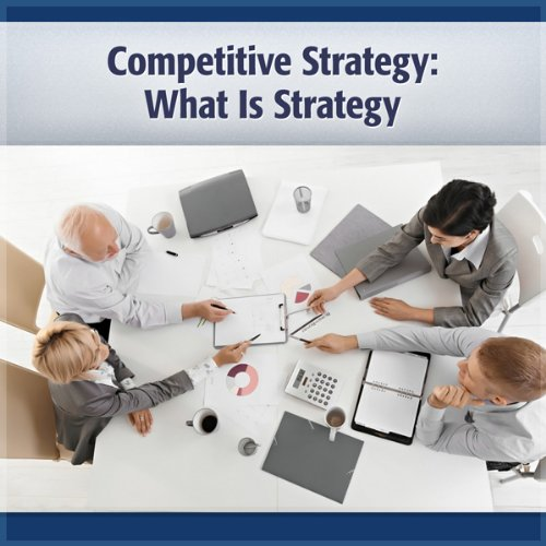 Competitive Strategy audiobook cover art