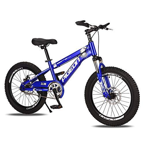 BAOMEI Bicicletas Bicicletas niños de 20 Pulgadas, Regalo de la Rueda de la Bicicleta de Entrenamiento con Acero al Carbono de Alta Niños 7-14 años for niños y niñas de (Color : D)