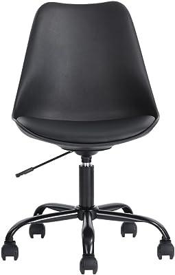 FURNISH 1 Silla de Oficina, 47.5 x 43 x 80 – 88 cm plástico PP