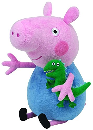 TY 96231 Peppa Pig George - Beanie Med