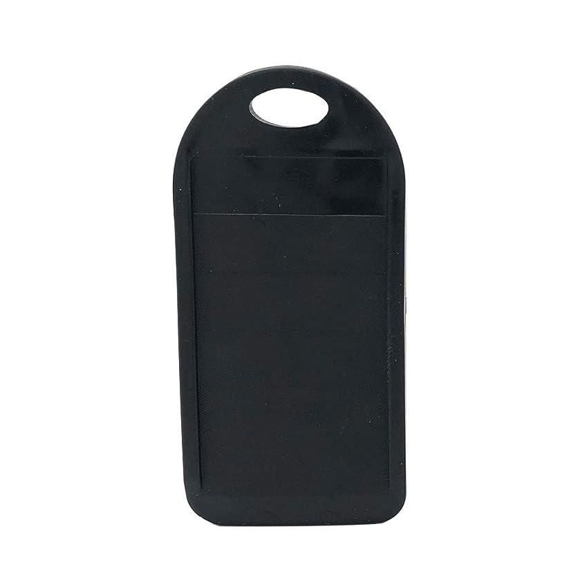 カリングあご独立してかみそりの刃の研ぎ器の男性の女性の実用的な安全付属品の携帯用使いやすい普遍的な家の速い洗剤の耐久の手動粉砕のカッターの便利さ(黒)