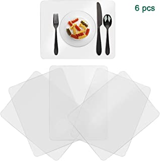 Best large plastic placemats Reviews