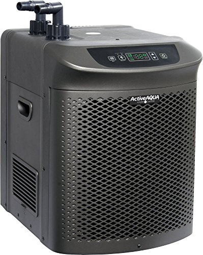 Active Aqua AACH50HP Hydroponic Water Cooling System, per hour, User-Friendly Chiller, New, 1/2 HP, Rated : 4,020 BTU, w/Power Boost