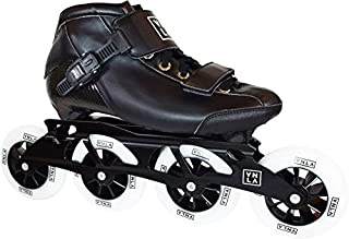 X1 Roller Blades/Adult Rollerblades Women - Adjustable Inline Skates for Women - Patines Roller Skate Blade - Rollerblades Men (Black)