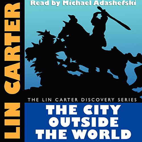 The City Outside the World audiobook cover art