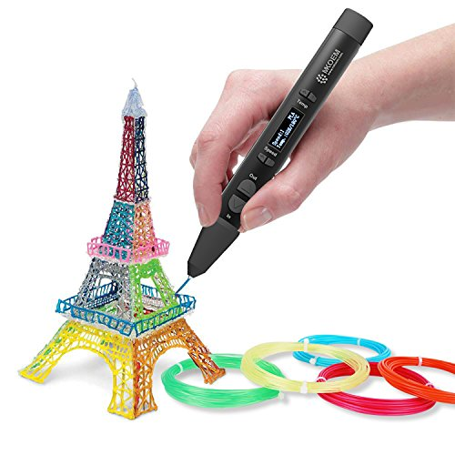 3D Stift Filament 24 Farben 3M PLA Filament 1.75mm 3d stifte farben für 3D Stift, kompatibel mit ODRVM, Tipeye, Uvistare, Lovebay, PLUSINNO, QPAU, Canbor, Juboury, Nexgadget und dikale 3d Pen 3D Druckstift von MKOEM - 5