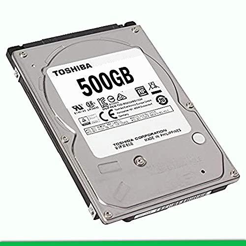 """HARD DISK 500GB TOSHIBA 2,5"""" SATA 7200RPM per NOTEBOOK (RICONDIZIONATO)"""