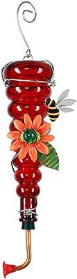 Sunset Vista Designs Enchanted Garden Collection Bee Hummingbird Feeder