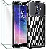 ivoler Hülle mit Panzerglas für Samsung Galaxy A6+ 2018 /