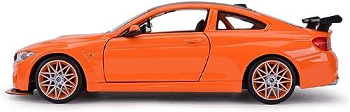 compras en linea FDHLTR FDHLTR FDHLTR Modelo de Coche Coche 1 24 M4GTS Simulación Aleación de fundición Adornos de Juguete Deportes Colección de Coches Joyería 20x8x5.8 CM Modelo de Auto  exclusivo