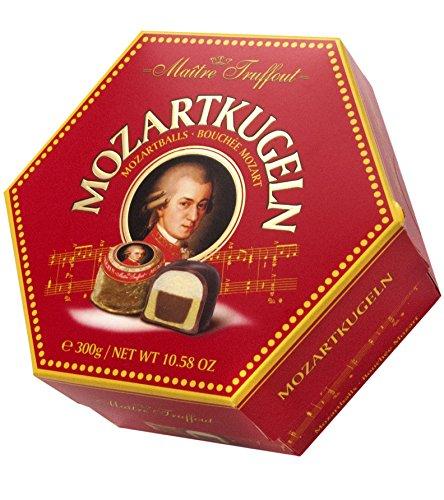 Mâitre Truffout Pralinen mit Nougat-Marzipan-Füllung, 3er Pack (3 x 300 g)