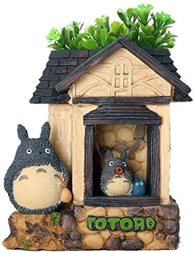 ZSNB Linda Totoro luz Nocturna, Animado japonés Mi Vecino Totoro Figuras Away espirituosa de recepción de Noche de la lámpara de Lectura del Vector for la decoración del jardín Infantil Inicio