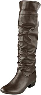 InKach Womens Winter Boots | Knee High Boot Shoes | High Tube | Flat Heels | Riding Boots