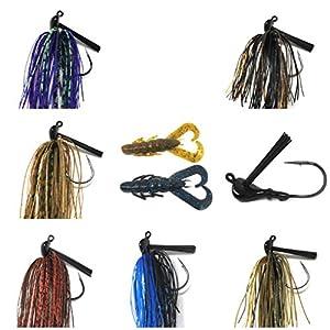 Wtrees #2741 Best Jigheads Shad Darts Shad Tube Jigh Head Kit for Bass Fishing American Shad (bass jigs Trailers bass jigs Bulk bass jigs kit bass jig Crawfish bass jigs Set bass jigs Fishing)