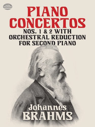 PIANO CONCERTOS NOS 1 & 2: With Orchestral Reduction for Second Piano