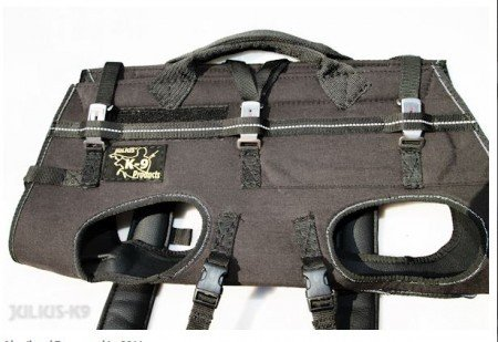 Julius-K9 16600-XL Rappelling and Carrier Harness, Size: 2015 Model, XL