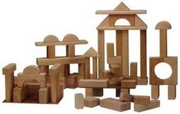Beka Wooden New Free Max 40% OFF Shipping Blocks - Deluxe Set