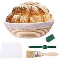 パン校正バスケット布ライナー用、サワー種校正セット手作りパン生地校正ライジングラタンバスケット、パン屋さんへのギフト