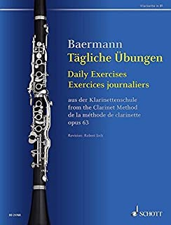 Daily Exercises, Op. 63: from The Clarinet Method