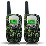 Joyfun Toys for 3-10 Year Old Boys Walkie Talkies for Kids Long Distance Outdoor Games Camping Hiking Teens Gifts for Boys 5, 6, 8 Year Old Camo - 1 Pair